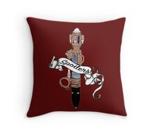 River Song's Sonic. Throw Pillow