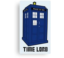Time Lord, Dr. Who, BBC, Tenth Doctor, Geek, TV Show, Weeping Angels Canvas Print