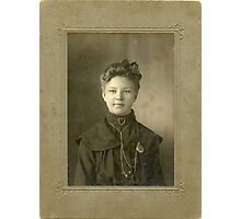 Miss Gertrude Talle Photographic Print