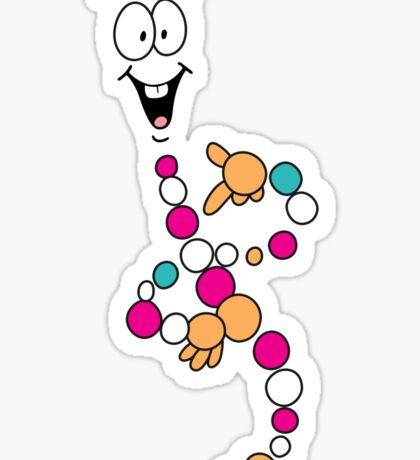 Dino DNA Sticker