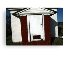 White Door Barn, Boston Canvas Print