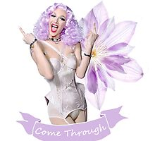 Violet Chachki Purple and White Look (D/2) by cinched-chachki