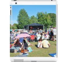 Tentertainment music festival, Kent iPad Case/Skin