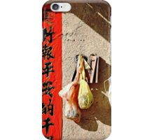 Hanging on the Wall  iPhone Case/Skin