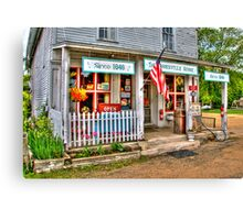 Cooksville Store Canvas Print