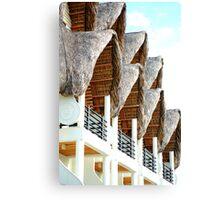 Java Hotel facade Canvas Print