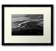 Mt.Shasta Ca. Framed Print