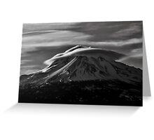 Mt.Shasta Ca. Greeting Card