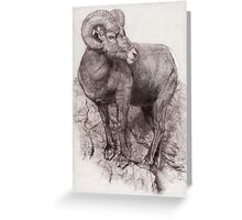 Ram no.1 Greeting Card