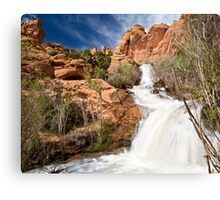 Faux Falls Canvas Print