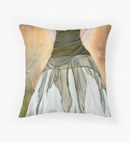 Where the Truth Dwells Throw Pillow