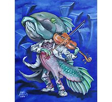 Fiddle Fish Photographic Print