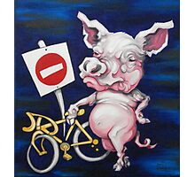 Road Hog Photographic Print