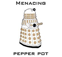Menacing Pepper Pot. Photographic Print