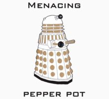 Menacing Pepper Pot. Baby Tee