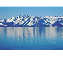 """""""Lake in the Sky..""""  Photographic Print"""