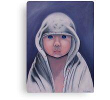 bath baby  Canvas Print