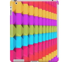 3D Colorful Geometric Blocks iPad Case/Skin