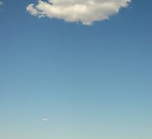 Lone Cloud by kattand