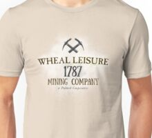 Wheal Leisure Mine 1787 - Poldark Unisex T-Shirt