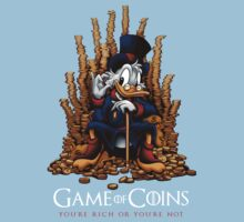 Game of Coins One Piece - Short Sleeve