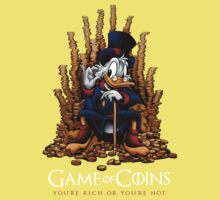 Game of Coins Baby Tee