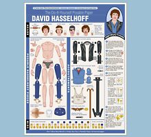 poseable david hasselhoff Unisex T-Shirt