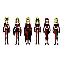 harley queen Photographic Print