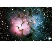 Galaxy nebula stars hipster star NASA science space photograph geeky geek gift Photographic Print