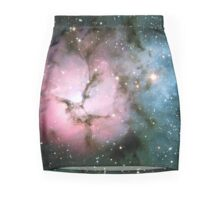 Galaxy nebula stars hipster star NASA science space photograph geeky geek gift Mini Skirt