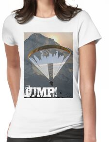 Jump Womens Fitted T-Shirt