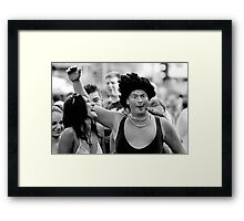 The Entertainer Framed Print