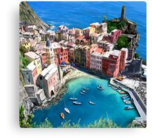Under the Mediterranean Sun Canvas Print