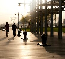 Pier in NY by sidyam