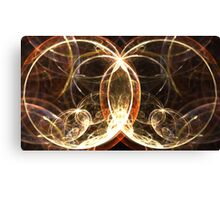 Glass Spheres Canvas Print