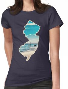 New Jersey Love Womens Fitted T-Shirt