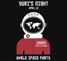 Yuri's Night World Space Party by Samuel Sheats