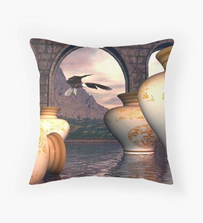 The Storehouse of the Emperor Xan Throw Pillow