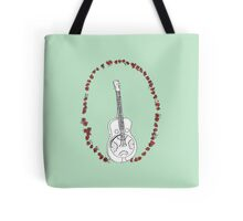 Dobro Icon with Red Roses Tote Bag
