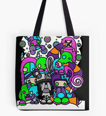 My Favorite Monsters Tote Bag