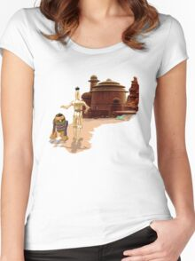 Street Droids Women's Fitted Scoop T-Shirt