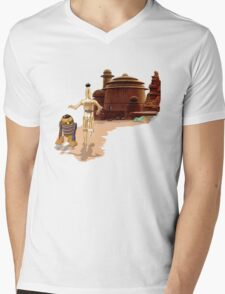 Street Droids Mens V-Neck T-Shirt