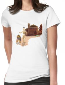 Street Droids Womens Fitted T-Shirt