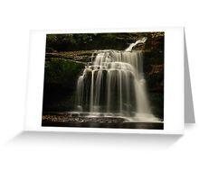 Walden Beck, West Burton, Yorkshire Dales Greeting Card