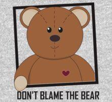 DON'T BLAME THE TEDDY BEAR One Piece - Long Sleeve