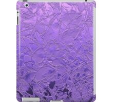 Grunge Relief Floral Abstract iPad Case/Skin
