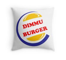 Dimmu Burger Throw Pillow