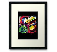 Pop Avengers Framed Print