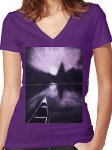 enchantment Women's Fitted V-Neck T-Shirt