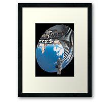 The Sky Mirror Framed Print
